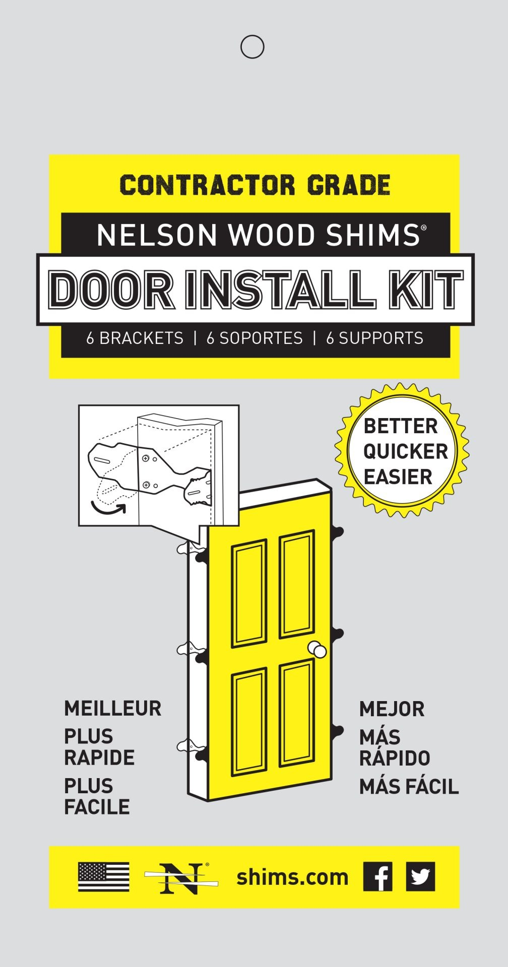 Door Install Kit packaging image
