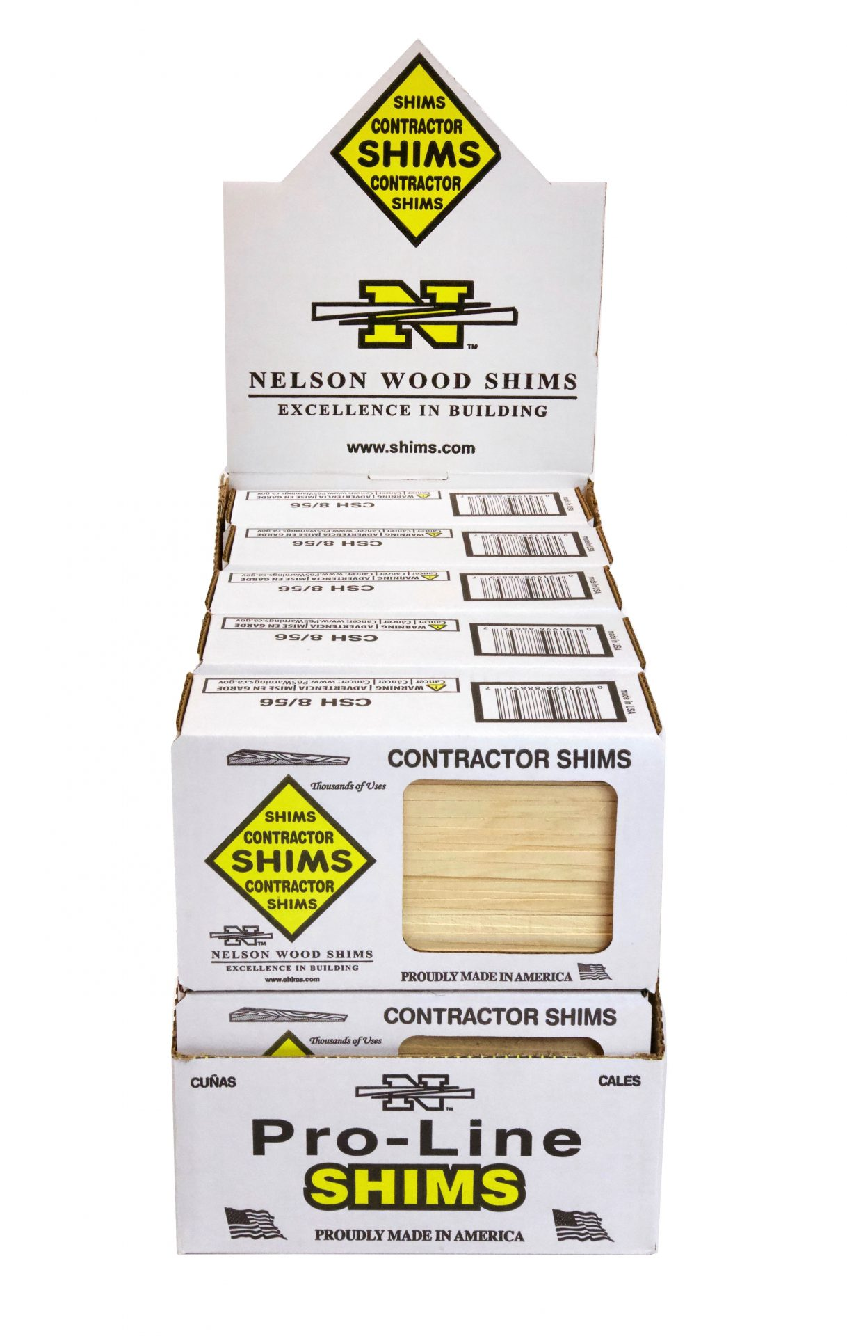 Product Image Contractor Shims 56-count Case