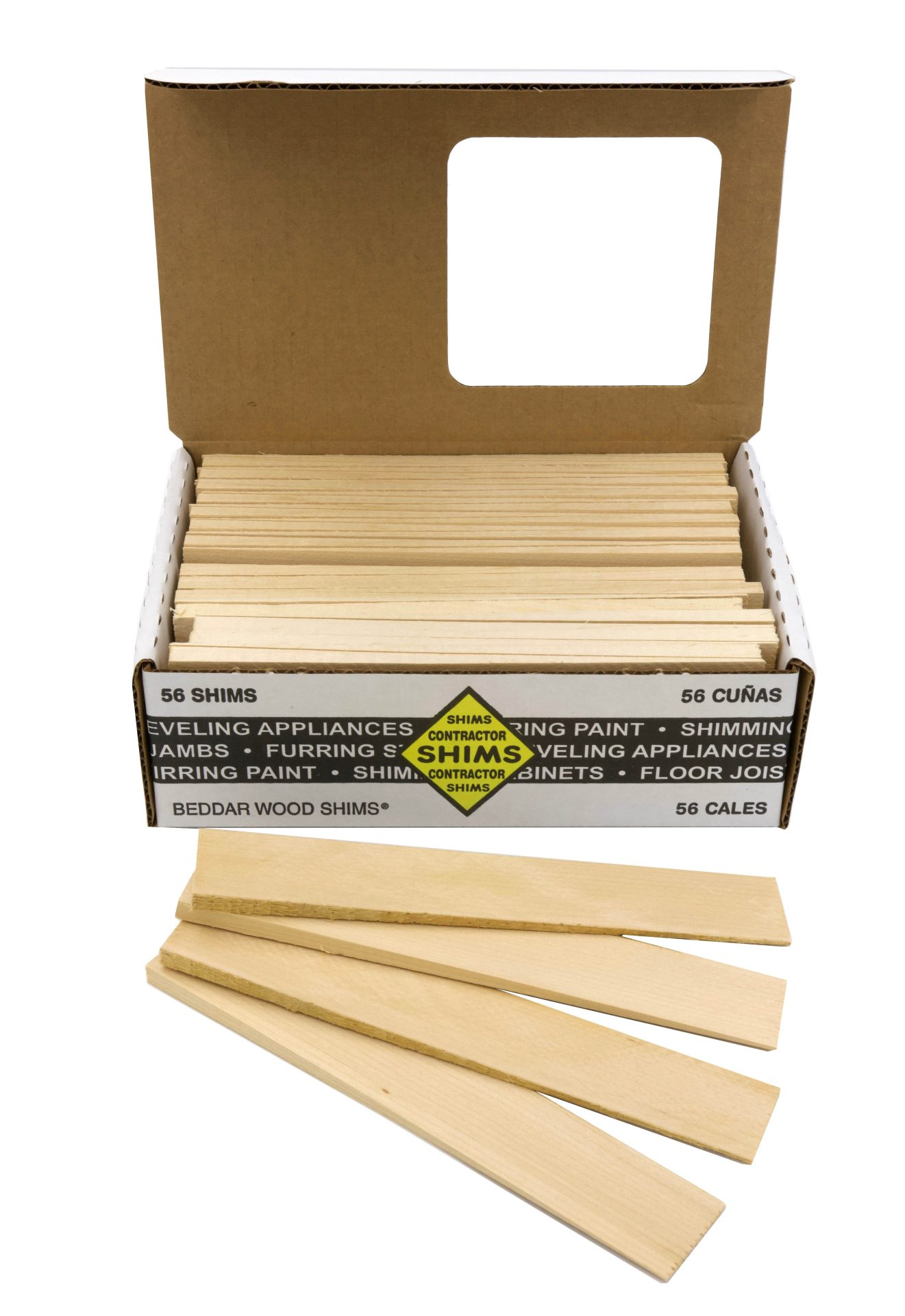 Product Display Image Contractor Shims 56-count