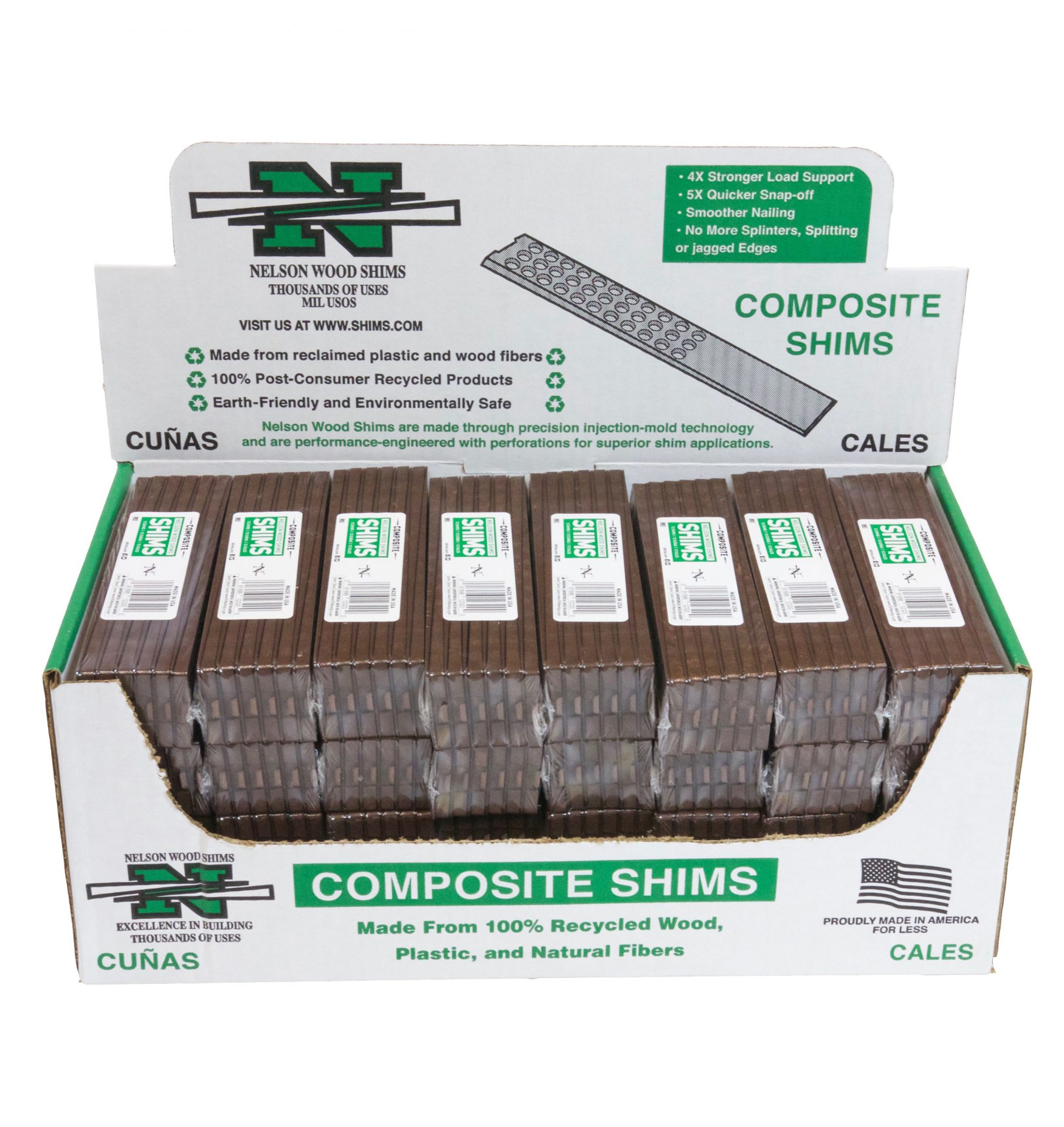 Holed Composite Shims Case